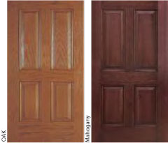 Supreme windows calgary inc for Mahogany door skin